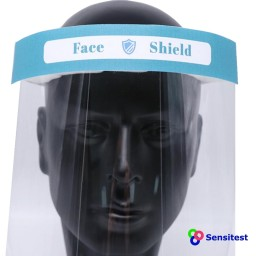 Sensitest face shield