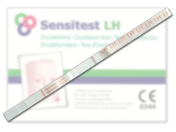 Sensitest LH strip negative test result